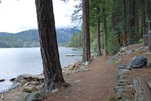 Hiking Trail around Pinecrest Lake