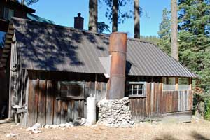 An old cabin near Strawberry