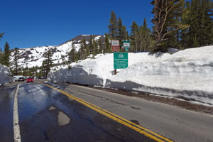 Photo of the Sonora Pass, June 16, 20111