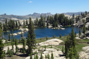 Photo of Powell Lake, Emigrant Wilderness, CA