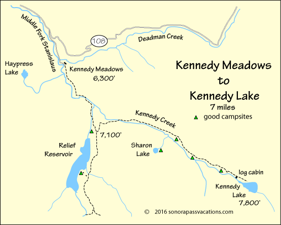 Kennedy Lake Backpack